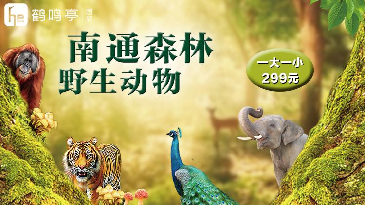 南通动物园一日游[南通]
